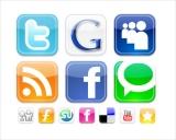 Socializer - Плагин скользящей панели с иконками социальных сетей